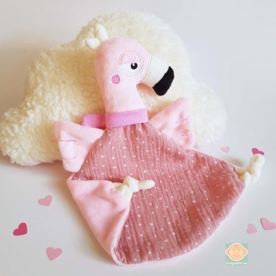 Schmusetuch Flamingo Abb. 3