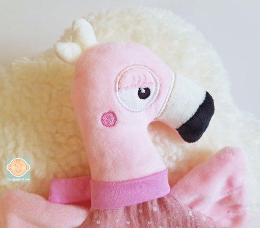 Schmusetuch Flamingo Abb. 4