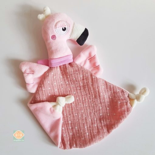 Schmusetuch Flamingo Abb. 5
